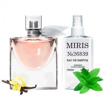 Духи MIRIS №26839 (аромат похож на Lancome La Vie Est Belle) Для Женщин 100 ml
