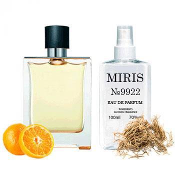 Духи MIRIS №9922 (аромат похож на Hermes Terre D`Hermes) Для Мужчин 100 ml