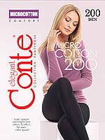 Колготки Microcotton 200 den Conte