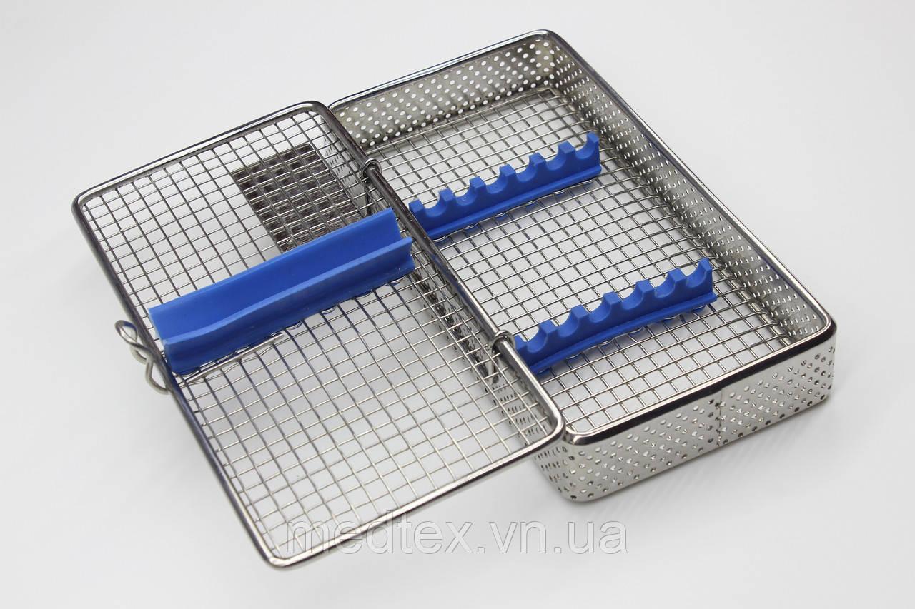 Бокс, лоток-касета для стерилизации инструмента (хирургическая на 7 инст.)