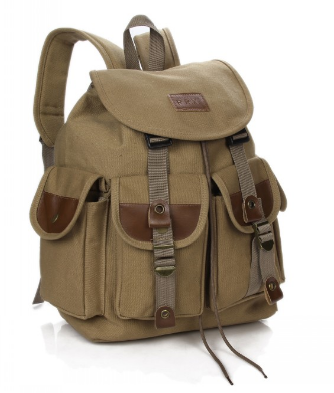 Рюкзак мешковина хаки RRX