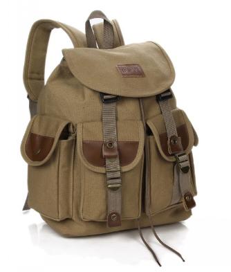 Рюкзак мішковина хакі RRX