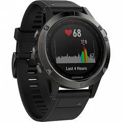 Спортивные смарт-часы GARMIN FENIX 5 SLATE