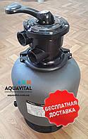 Песочный фильтр для бассейна Emaux P350, 4.32 м³/ч, верхнее подключение