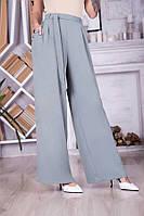 Красивые женские широкие брюки 49093 (42–48р) в расцветках