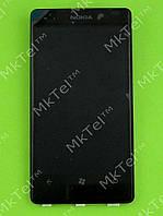 Дисплей Nokia Lumia 800 с сенсором, orig-self