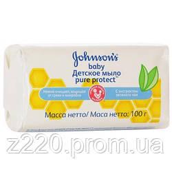 Мыло Johnson's Baby Pure Protect 100 г (3574661115122)