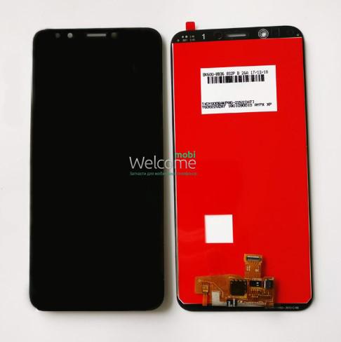 Модуль Lenovo K5 Note (2018) black дисплей экран, сенсор тач скрин леново к5 нот