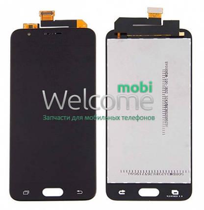Модуль Samsung SM-G570F Galaxy J5 Prime black с регулируемой подсветкой дисплей экран, сенсор тач скрин самсунг ж5 прайм, фото 2