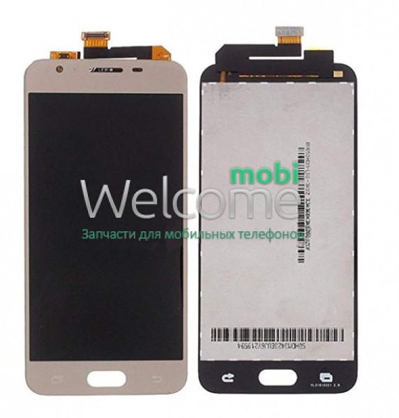 Модуль Samsung SM-G570F Galaxy J5 Prime gold с регулируемой подсветкой дисплей экран, сенсор тач скрин самсунг ж5 прайм