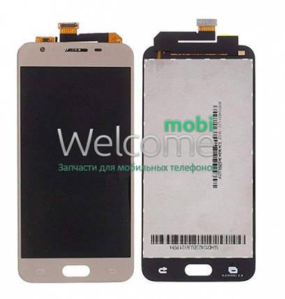 Модуль Samsung SM-G570F Galaxy J5 Prime gold с регулируемой подсветкой дисплей экран, сенсор тач скрин самсунг ж5 прайм, фото 2