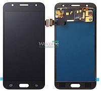 Модуль Samsung SM-J500H Galaxy J5 black с регулируемой подсветкой дисплей экран, сенсор тач скрин самсунг гэлэкси ж5