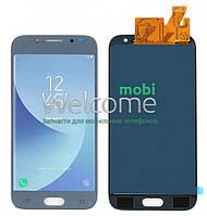 Модуль Samsung SM-J530F Galaxy J5 (2017) silver с регулируемой подсветкой дисплей экран, сенсор тач скрин самсунг гэлэкси ж5