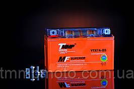 Мото аккумулятор 12v7a.h. Оранжевый гелевый ТММР