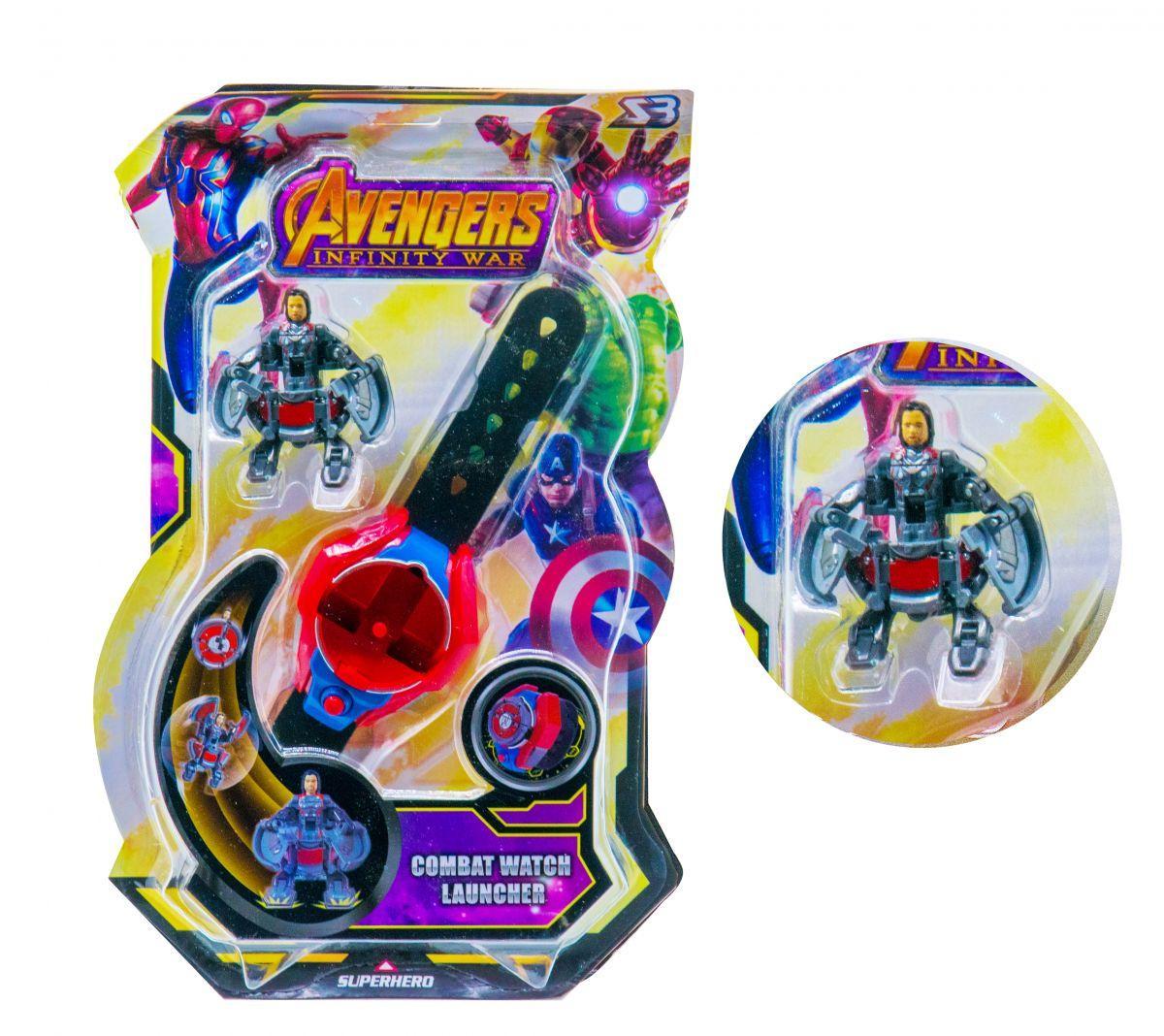 Часы-трансформеры герои Marvel Тор Thor scs scs