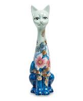Фарфоровая статуэтка Кошка (Pavone) JP-11/35