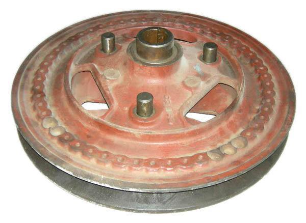 Шкив вариатора барабана большой НИВА 54-2-40
