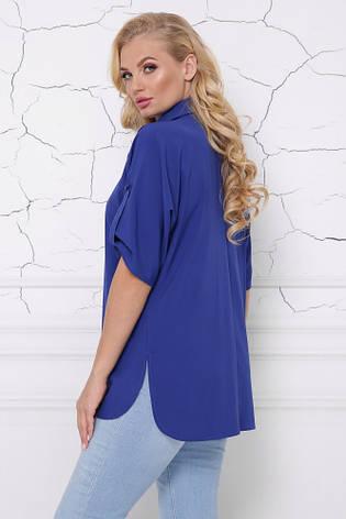 Блуза жіноча повсякденна 48-58рр., фото 2