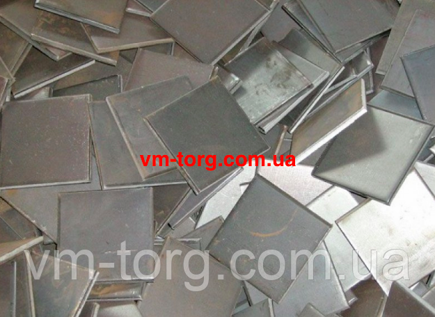 Металлические закладные пластины 400х800х12 мм
