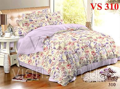 Постельное белье, семейный комплект, сатин, Вилюта «Viluta» VS 310