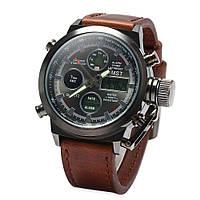 Мужские часы AMST AM3003 темно-коричневые