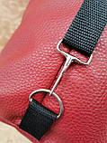 Женские сумка SJ-Ferrari искусств кожа спортивная стильная только оптом, фото 7