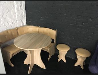 Кухонный уголок Боярин кофе Ваниль/Дуб Сонома Пехотин