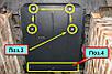 Защита MERCEDES B-class T245 (W246) 2011--, фото 6