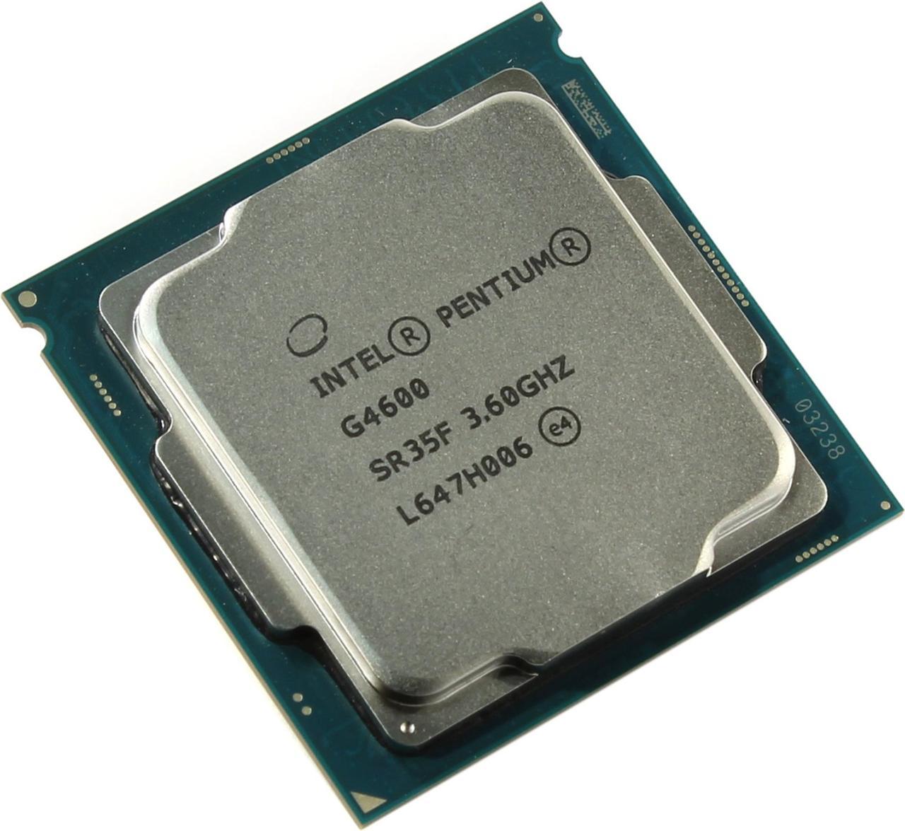 "Процессор Intel Pentium G4600 (BX80677G4600) 3.6GHz Socket 1151 Kaby Lake ""Over-Stock"" Б/У"
