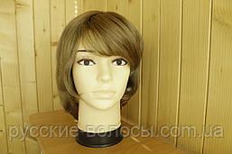 Жіночий паричек з натуральних волосся. Русявий.