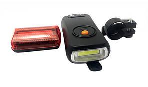 Велосипедный фонарь Bailong BL-908 (передний и задний)