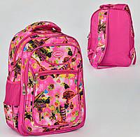 Школьный рюкзак Леди Баг на 2 отделения и 3 кармана