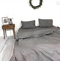 Полосатый комплект постельного белья из бязи голд.