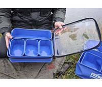 Набор мягких контейнеров для насадок и прикормок Feeder Competition EVA Bait Box Set Large