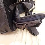 Рюкзак туристический North Face 55 литров походный Black, фото 7
