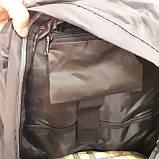 Рюкзак туристический North Face 55 литров походный Black, фото 6