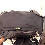 Рюкзак туристический North Face 55 литров походный Black, фото 10