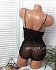 Сексуальное боди ЛЮКС качества прозрачное кружевное эротическое белье женское черное с кружевом, фото 7