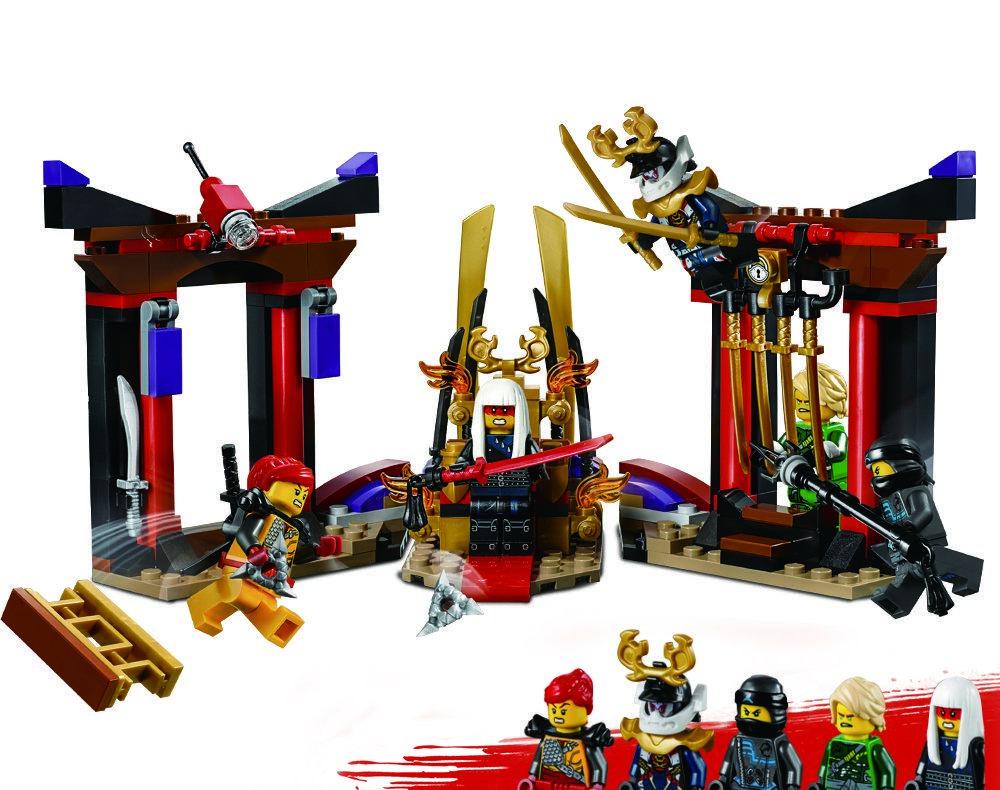 Конструктор Зал для коронации, серия Герои ниндзя