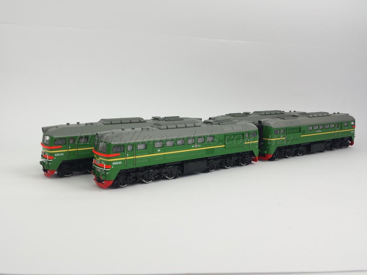 ROCO 73794  двухсекционный тепловоз 2М62-0066 1/87