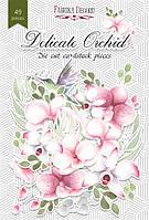 Висічки - Delicate orchid - Fabrika Decoru - 49 шт.