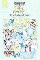 Висічки - Puffy Fluffy Boy - Fabrika Decoru - 52 шт.