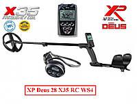 Металошукач XP DEUS 28 X35 RC WS4