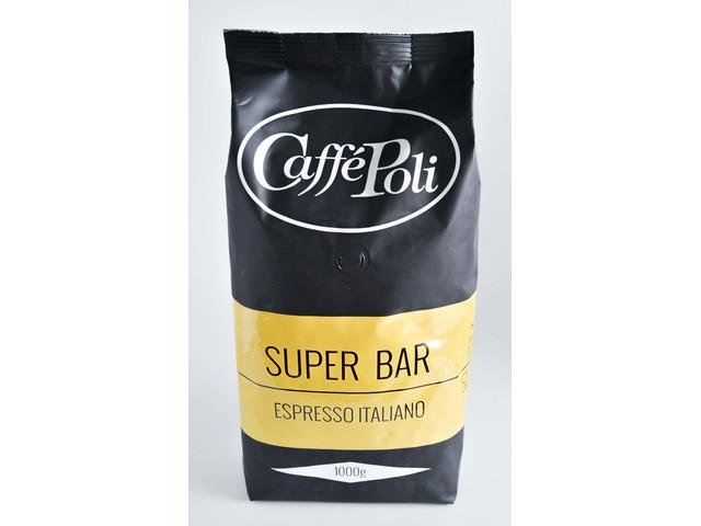Кофе Caffe Poli Superbar (1000 г) в зернах