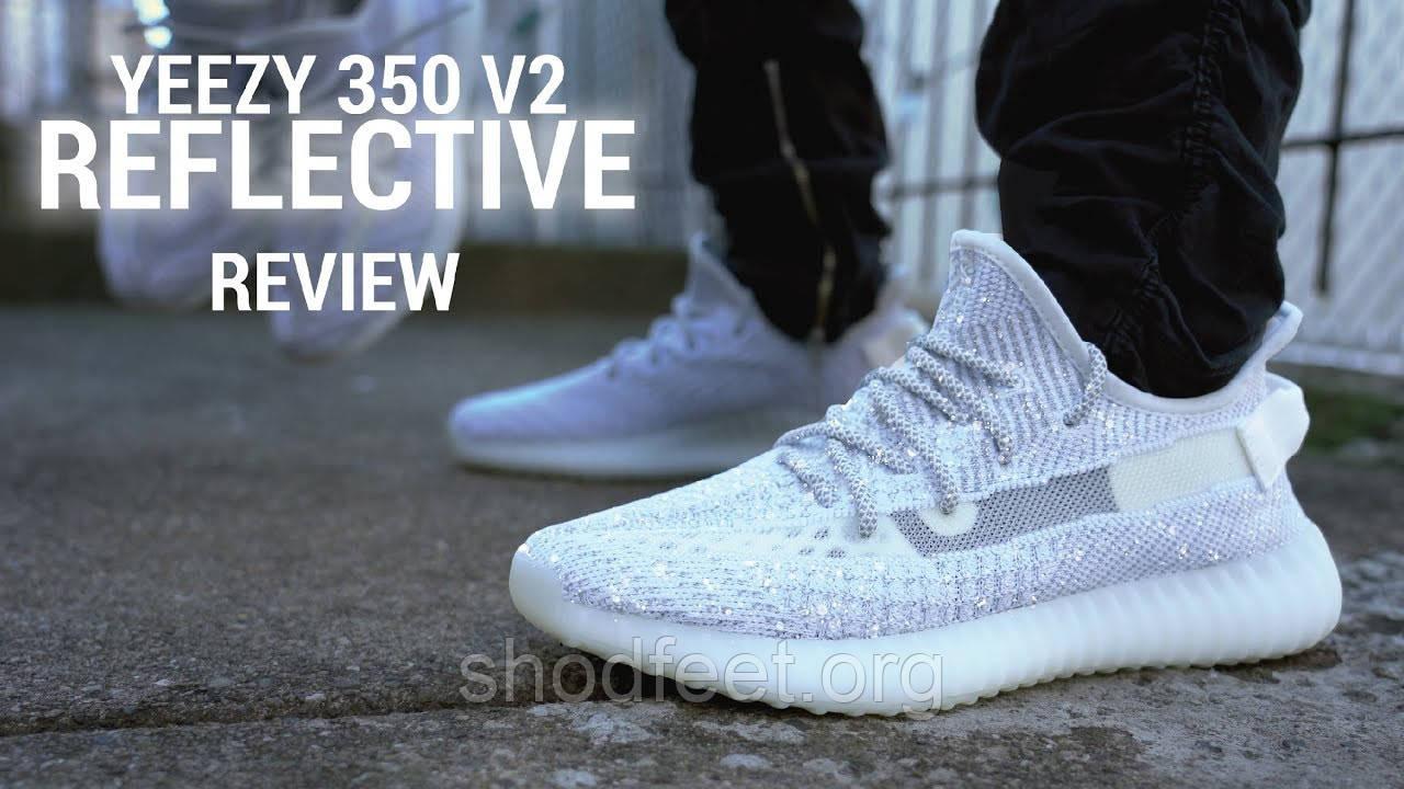 Мужские кроссовки Adidas Yeezy Boost 350 V2 Reflective