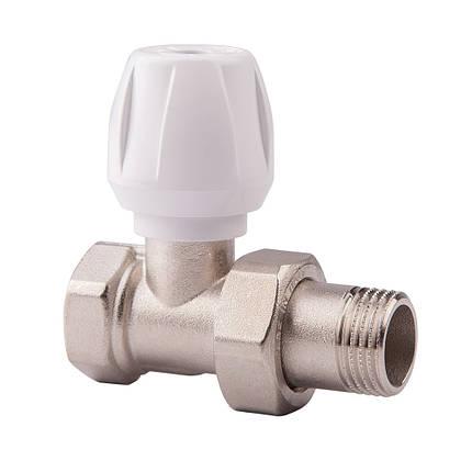 Прямой ручной вентиль простой регулировки 3/4 ICMA 813 (Италия), фото 2