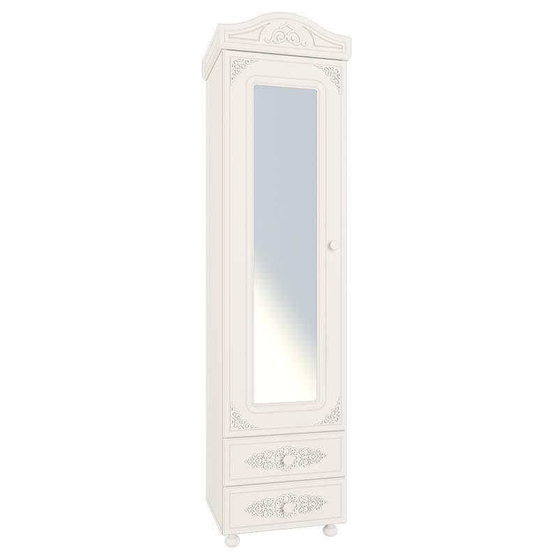 Шкаф-пенал с зеркалом Ассоль АС-01