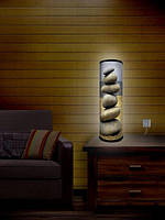 Дизайнерский  светильник  «Пирамида из камней»