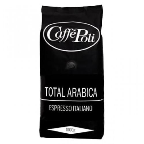 Кофе Caffe Poli Total Arabica в зернах (1000 г)