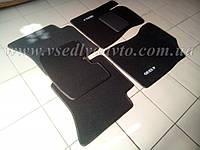 Ворсовые коврики Geely МК/MK Cross (Черные)
